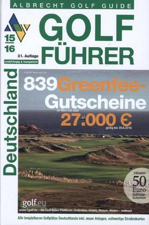 Albrecht Golf Guide Golf Führer Deutschland 2015/2016
