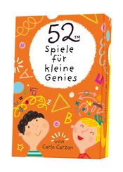 52 Spiele für kleine Genies (Kinderspiel)