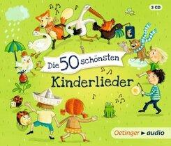 Die 50 schönsten Kinderlieder, 3 Audio-CD