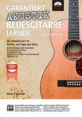 Garantiert Akustik Bluesgitarre lernen, m. 1 CD-ROM