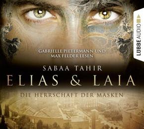 Elias & Laia - Die Herrschaft der Masken, 4 Audio-CDs