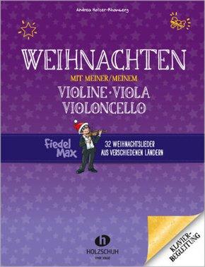 Weihnachten mit meiner/meinem Violine, Viola, Violoncello