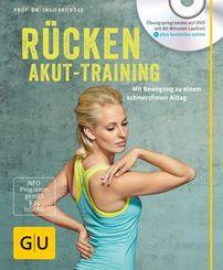 Rücken-Akut-Training, m. DVD