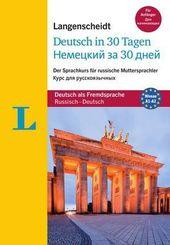 Langenscheidt Deutsch in 30 Tagen, Russische Ausgabe mit Audio-CD
