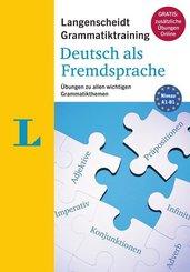 Langenscheidt Grammatiktraining Deutsch als Fremdsprache