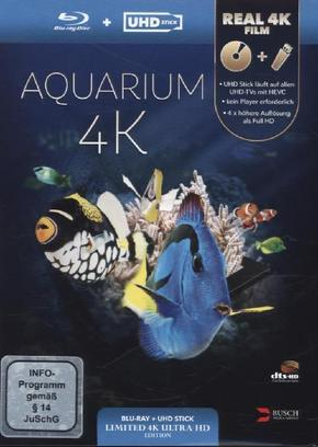 Aquarium 4K (UHD Stick in Real 4K +, 1 Blu-ray (Limited Edition)