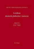 Lexikon deutsch-jüdischer Autoren: Lewi - Mehr; .Band 16