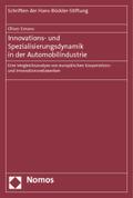 Innovations- und Spezialisierungsdynamik in der Automobilindustrie