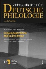 Zeitschrift für deutsche Philologie, Sonderhefte: Entsorgungsprobleme: Müll in der Literatur