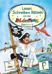 Lesen, Schreiben, Rätseln mit der Bildermaus - Piraten