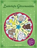 Zauberhafte Glitzermandalas - Tierbabys
