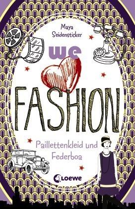 we love fashion - Paillettenkleid und Federboa