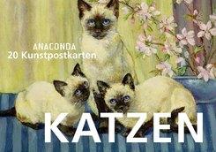 Katzen, Postkartenbuch