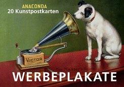 Werbeplakate, Postkartenbuch