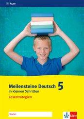 Meilensteine Deutsch in kleinen Schritten 5. Lesestrategien - Ausgabe ab 2016