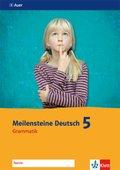 Meilensteine Deutsch: Grammatik, 5. Klasse