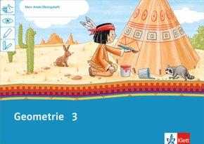 Mein Indianerheft: Mein Anoki-Übungsheft - Geometrie Klasse 3