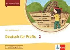 Mein Indianerheft: Mein Anoki-Übungsheft - Deutsch für Profis 2