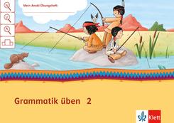 Mein Indianerheft: Mein Anoki-Übungsheft - Grammatik üben, Arbeitsheft 2. Schuljahr