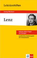 """Lektürehilfen Georg Büchner """"Lenz"""""""