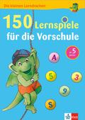 150 Lernspiele für die Vorschule