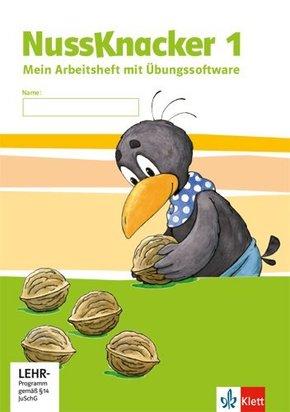 Der Nussknacker, Ausgabe Sachsen und Thüringen (2014): 1. Schuljahr, Arbeitsheft mit CD-ROM