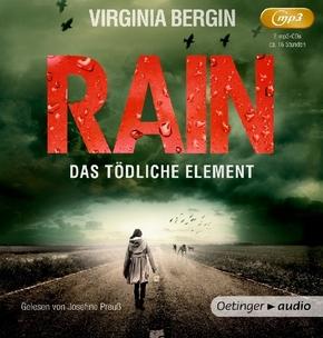 Rain. Das tödliche Element, 2 MP3-CDs