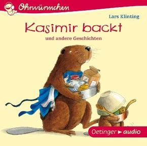 Kasimir backt, Audio-CD