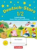 Deutsch-Stars: 1./2. Schuljahr: Lesetraining, Hexen, Feen und Prinzessinnen