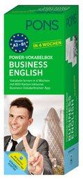 PONS Power-Vokabelbox Business English in 4 Wochen