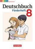 Deutschbuch Gymnasium, Fördermaterial: 8. Schuljahr, Förderheft