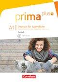 Prima plus - Deutsch für Jugendliche: Testheft mit Audio-CD; Bd.A1