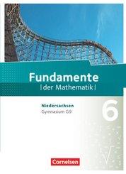 Fundamente der Mathematik, Gymnasium Niedersachsen G9: 6. Schuljahr, Schülerbuch