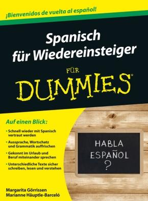 Spanisch für Wiedereinsteiger für Dummies, m. Audio-CD