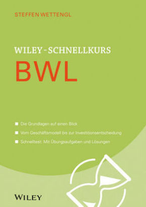 Wiley-Schnellkurs BWL