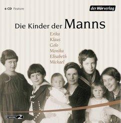 Die Kinder der Manns, 6 Audio-CDs