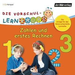 Die Vorschul-Lernraupe: Zahlen und erstes Rechnen, 1 Audio-CD