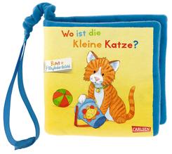 Mein erstes BUNT + Filzfederleicht®-Buggybuch: Wo ist die kleine Katze?