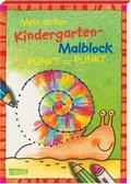 Mein dicker Kindergarten-Malblock - Von Punkt zu Punkt