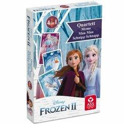 Die Eiskönigin - Völlig unverfroren, Quartett & Aktionsspiel (Kinderspiel)