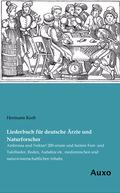 Liederbuch für deutsche Ärzte und Naturforscher