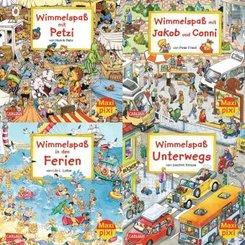 Maxi-Pixi-Serie 43: Wimmelbilder 4 (20 Expl. (4 Titel))