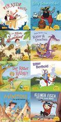 Pixi Bücher: Pixi-Buch 2075-2082 (Große Abenteuer für kleine Kerle), 8 Hefte; Serie.229