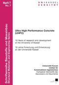 Ultra High Performance Concrete (UHPC)