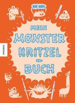 Mein Monsterkritzelbuch