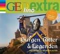 Burgen, Ritter und Legenden - Auf Zeitreise ins Mittelalter, 1 Audio-CD