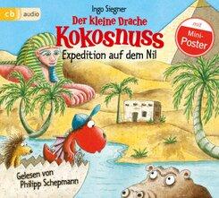 Der kleine Drache Kokosnuss - Expedition auf dem Nil, 1 Audio-CD