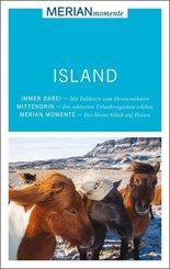 MERIAN momente Reiseführer Island