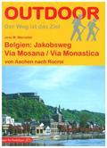 Belgien: Via Mosana / Via Monastica, m. 1 Beilage