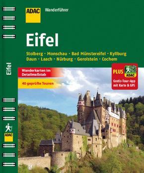 ADAC Wanderführer Eifel inklusive Gratis Tour App mit Karte & GPS